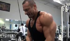 2010 NPC Tournament of Champions:  Delts and Arms training, 2 weeks out